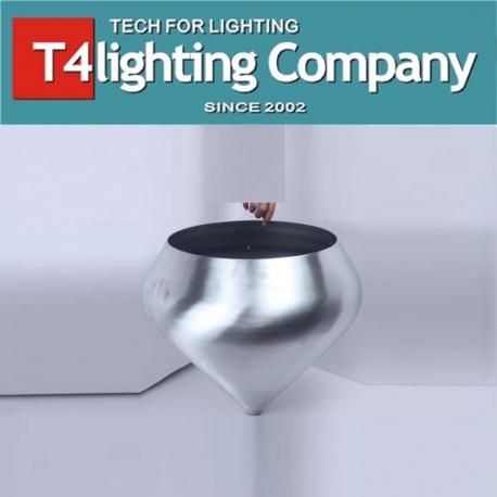 Silver Metal Lamp Shades