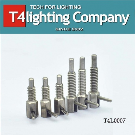 Stainless steel spring screw